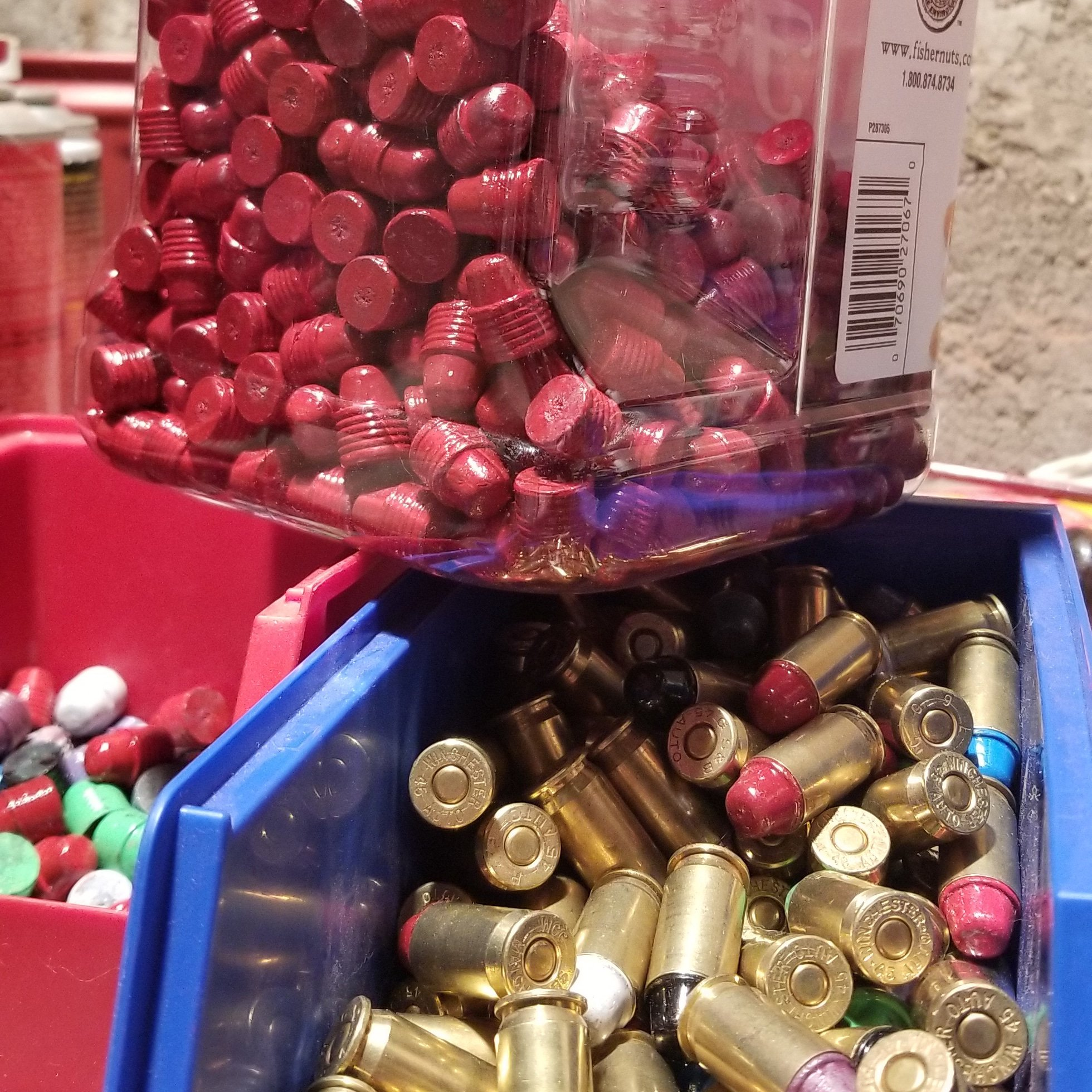 Rain Day Turned Reloading Day