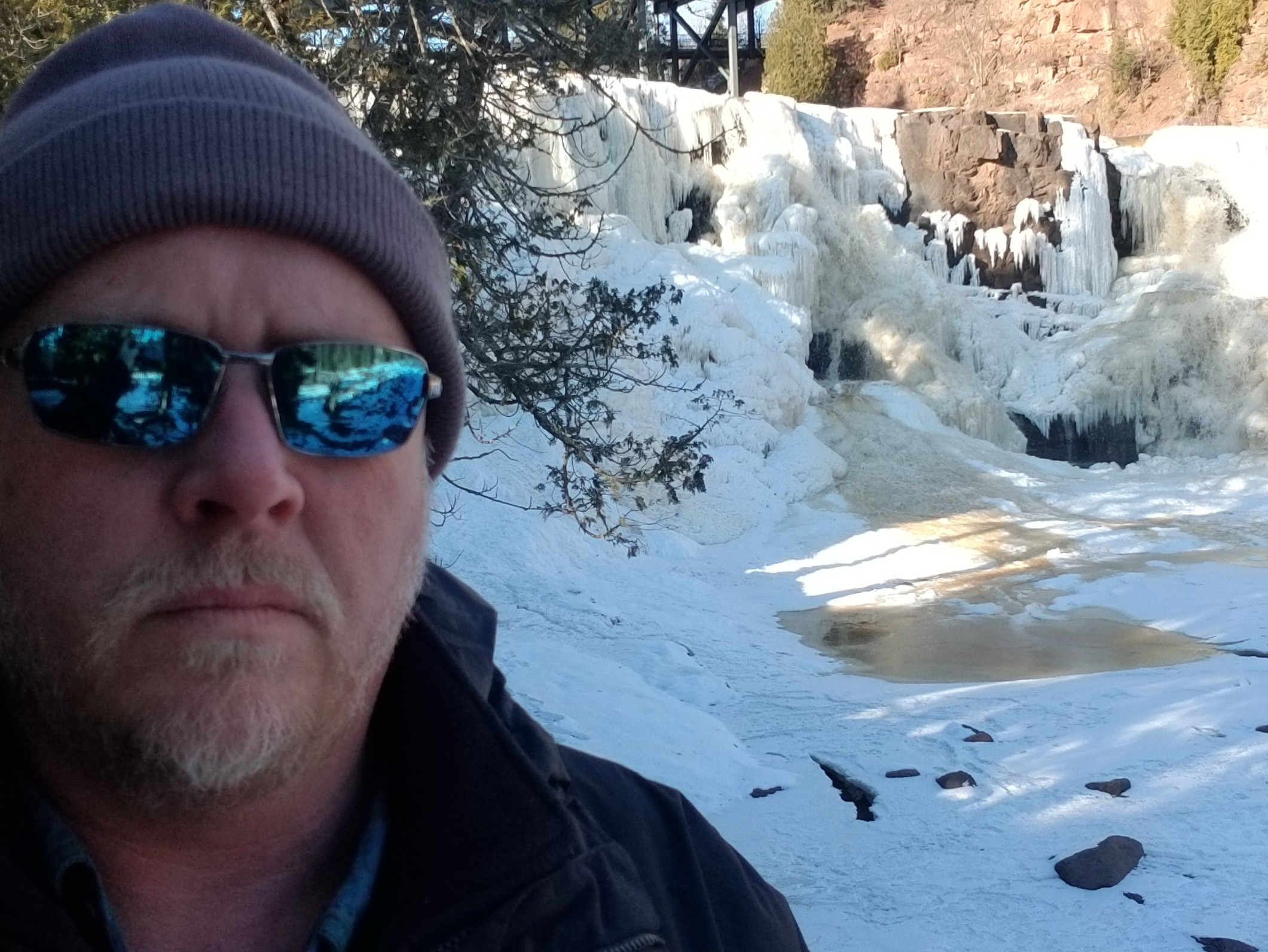 Gooseberry Falls – Frozen