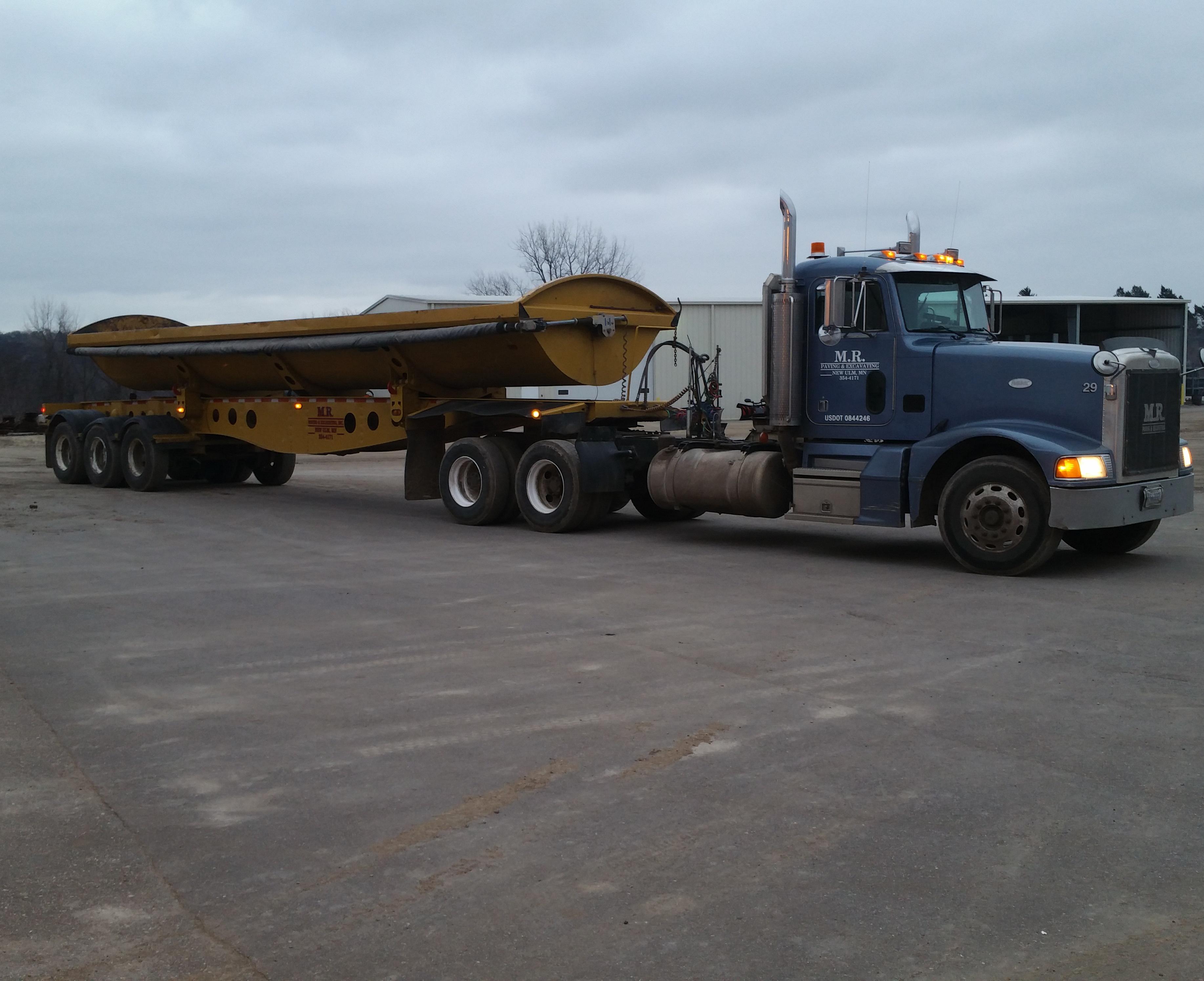 Side Dump Trucking