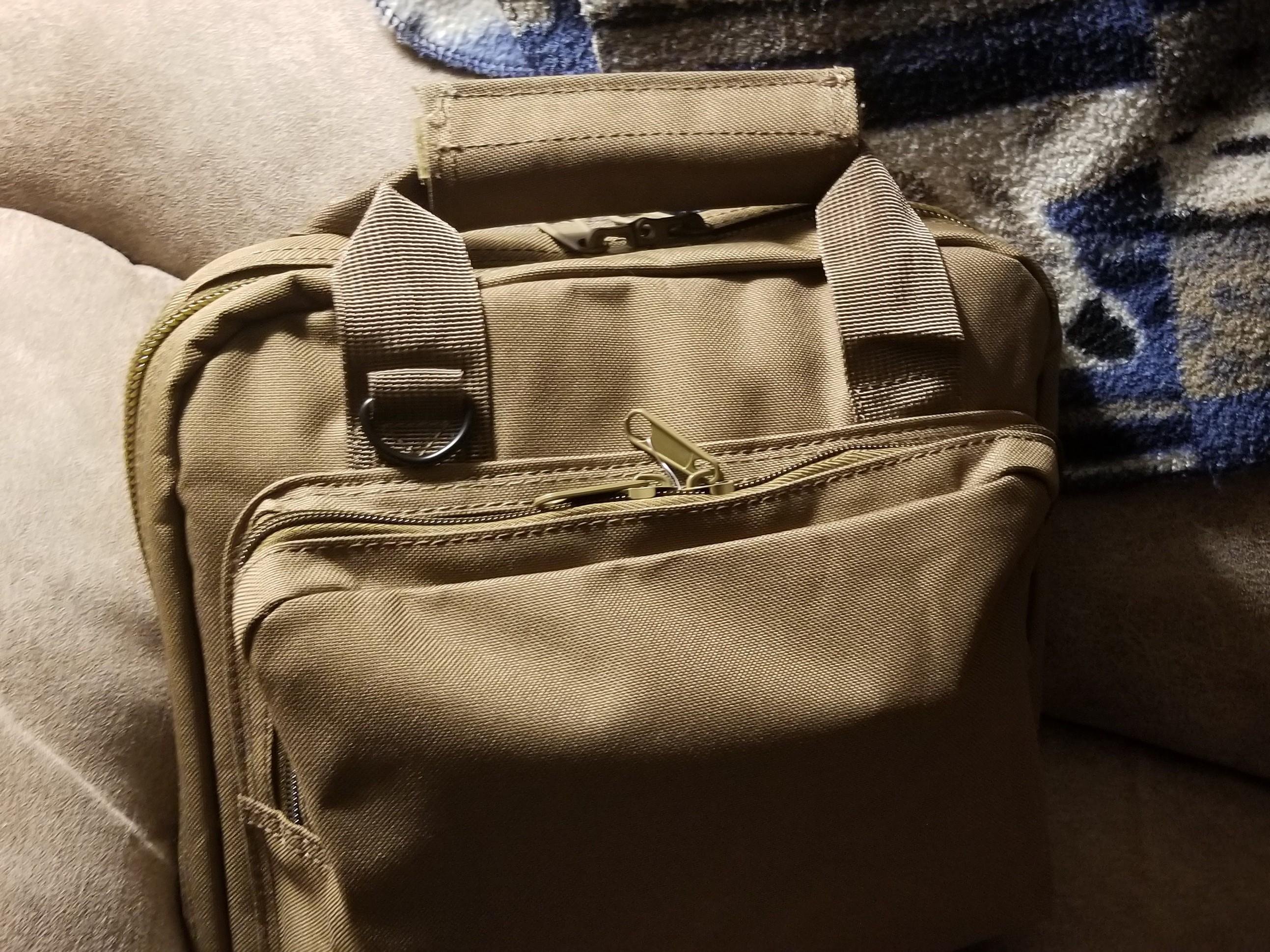 A New Gun Bag